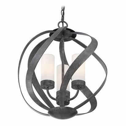 Pendant Transitional Lighting Blacksmith Quoizel