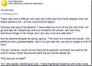 Halloween Stories for Kids to Read