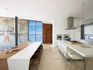 Beach House On Long Island Modern Kitchen New York