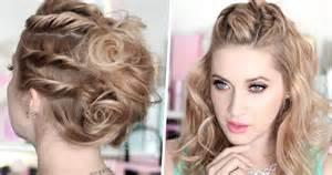 coiffure mariage facile coiffure facile mariage cheveux mi tendances été 2017