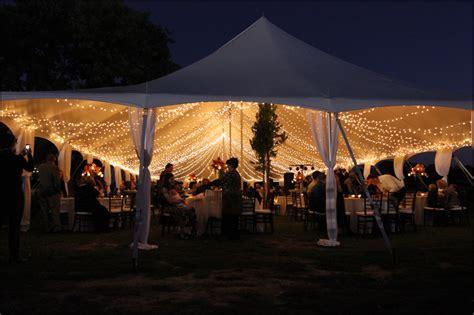 carolina wedding tent lighting goodwin