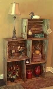 Best 25+ Wood crate shelves ideas on Pinterest Wooden
