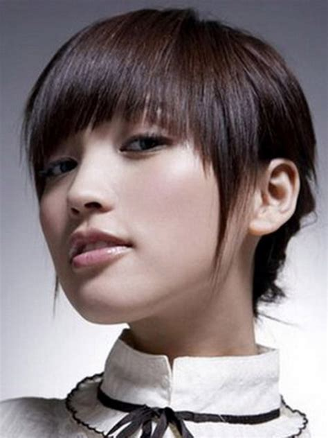 trendy asian short hairstyles  shorthairstyleideacom