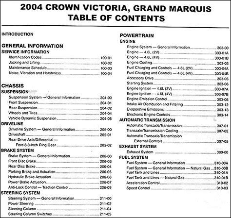crown victoria grand marquis marauder repair shop