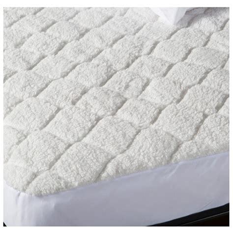 heated mattress pad king biddeford quilted sherpa electric heated mattress pad