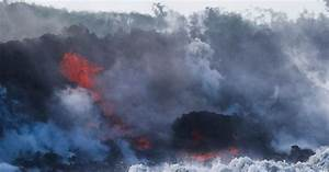 Lava from the eruption of Hawaii's Kilauea volcano pours ...