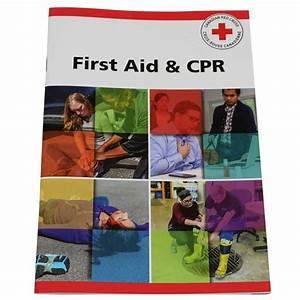 Canadian Red Cross First Aid  U0026 Cpr Manual  English