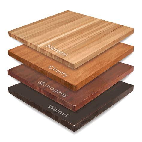 Maple Wood Butcher Block Table Tops  Bar & Restaurant