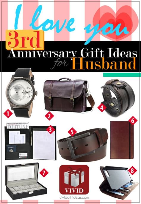 3rd anniversary gift ideas for 3rd wedding anniversary gift ideas for him 39 s
