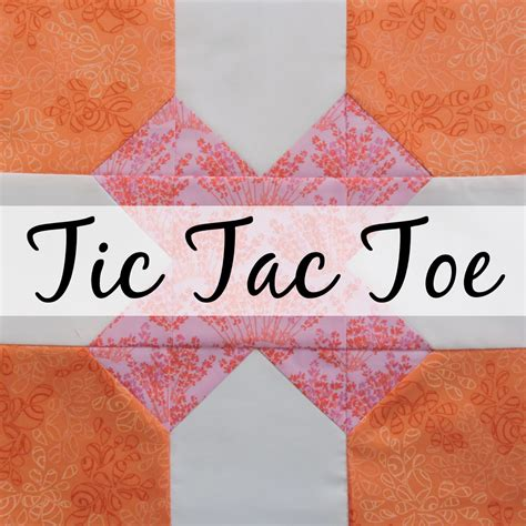 The Bee Hive  Tic Tac Toe  Blossom Heart Quilts