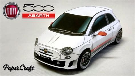 Fiat, Papercraft And Paper Toys