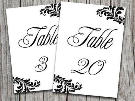wedding table numbers template wedding wedding table number template 2048333 weddbook
