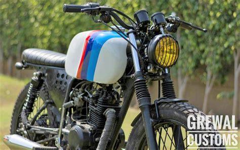Bajaj Ct100 Modified Bike Images by Bajaj Ct100 Brat Usa Edition By Grewal Customs