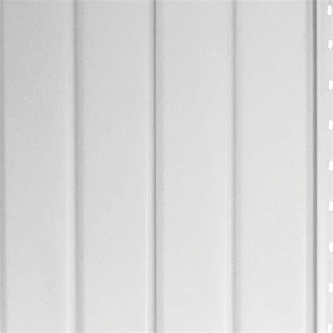 aluminium vertical  groove smooth siding  white rona