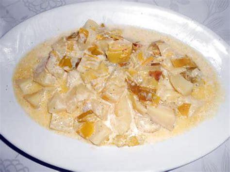 recette de poireaux pommes de terre a la creme