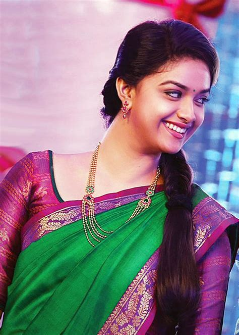 actress keerthi suresh in saree bairavaa keerthi suresh saree photos kollywood bench