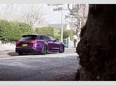 Purple Sled Audi RS6 Avant on ADV1 Wheels autoevolution