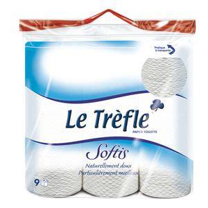 papier toilette soltis 9 rouleux le trefle shoptimise