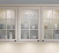 glass door cabinets Frosted Glass Doors For Kitchen Cabinets — Railing Stairs and Kitchen Design
