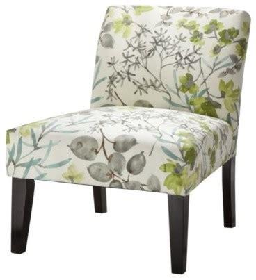 avington upholstered armless accent slipper chair gazebo