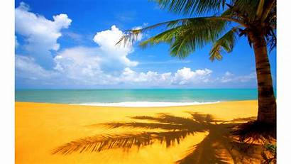 4k Beach Desktop Backgrounds Yellow Wallpapers Nature