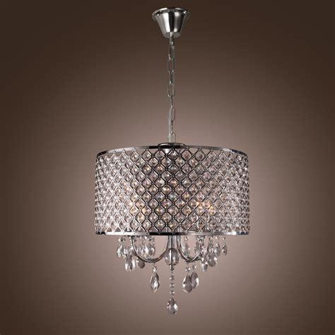 chandeliers pendant lights modern drum iron crystal ceiling chandelier pendant 4