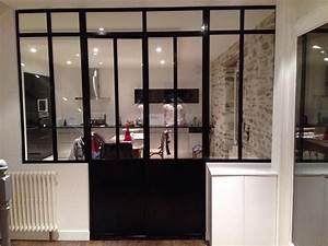parfait porte de garage avec porte double vitree With porte de garage et rénovation porte intérieure vitrée