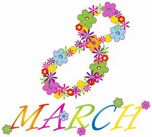 March 8 Clip Art – Cliparts