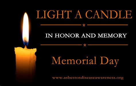 light  candle  adao  memorial day monday