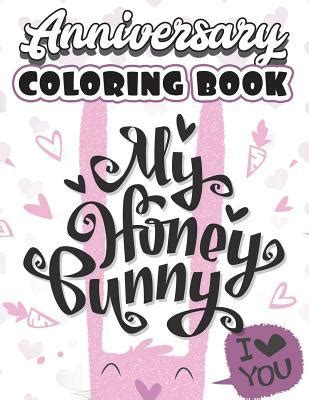 anniversary coloring book funny cute couple  love adult