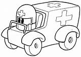 Ambulance Coloring Pages Printable Aid Sketch Drawing Concept Colouring Kid Ems Library Clipart Popular Buddies Team Children Toddlers Printables Getcoloringpages sketch template