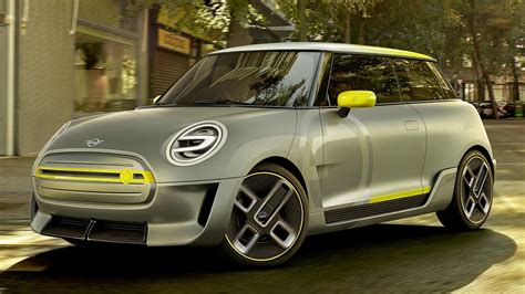 electric mini electric concept shown production model