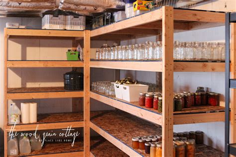 how to build your own bookshelf diy basement shelving the wood grain cottage