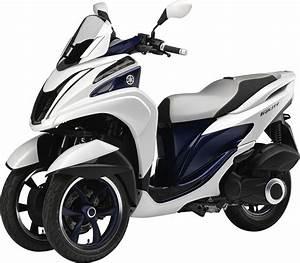 Scooter 3 Roues 125 : yamaha tricity le scooter 3 roues compact ~ Medecine-chirurgie-esthetiques.com Avis de Voitures
