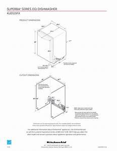Pdf Manual For Kitchenaid Dishwasher Kuds35fxss