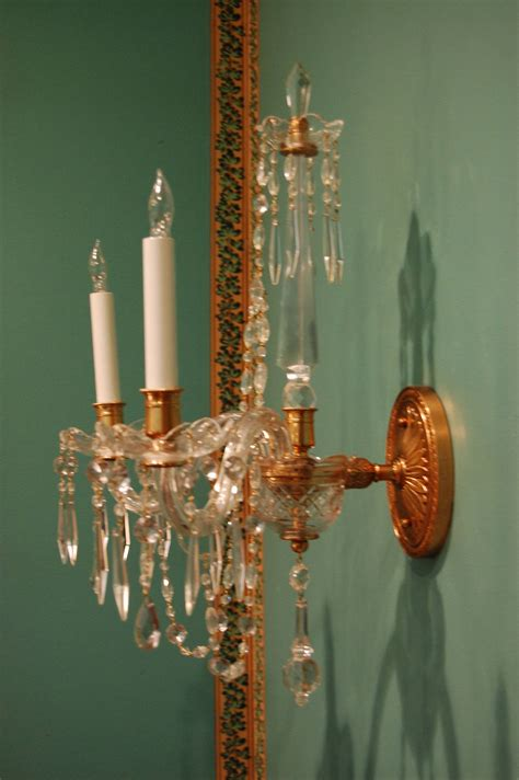 pineapple wall sconce with sconce waterford crystal wall