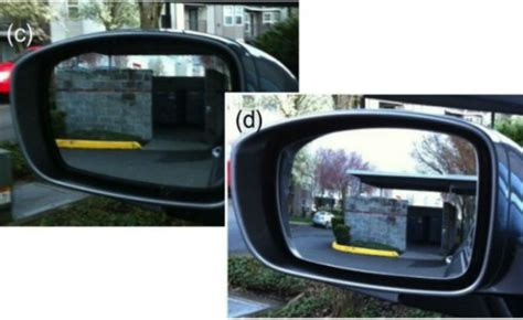 New Type Of Side-view Mirrors Eliminate Blind Spot