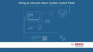 Bosch Security - Wiring an Intrusion Alarm System Control ...