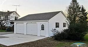 2 car prefab garages prefab two car garage horizon With 2 5 car garage kits