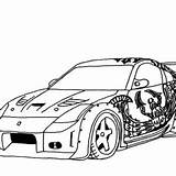 Coloring Pages Cars Drifting Drift Tokyo S2000 Honda Street Dk Kidsplaycolor Credit Larger sketch template