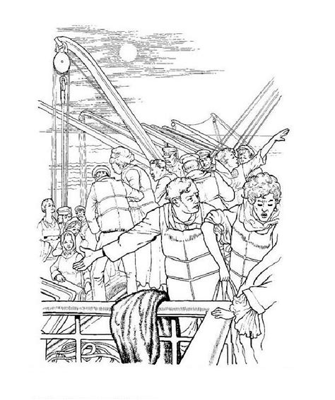 Titanic Kleurplaat by Titanic Coloring Pages Coloringpages1001