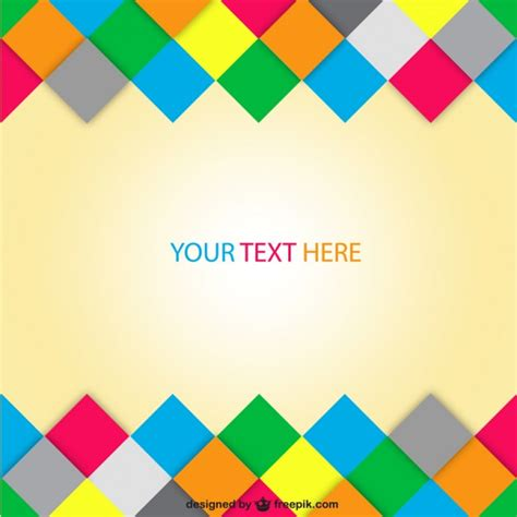 colorful abstract background design vector free download