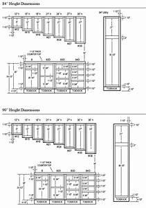 Woodcraft Custom Kitchen Cabinet Measurements