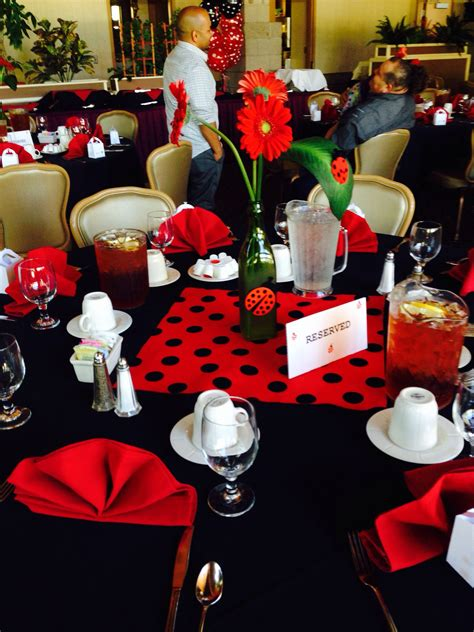 Tables I Decorated For My Sister In Laws Baby Shower