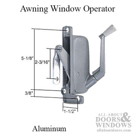 type awning window operator miami windows hand aluminum