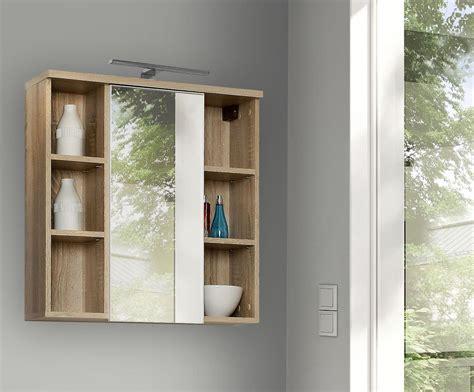 badezimmer hängeschrank mit spiegel veris badezimmer h 228 ngeschrank inkl led u spiegel