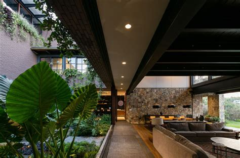 Casa Surrounded By Nature by Amazing Mexican House Friendly With Nature Home Design
