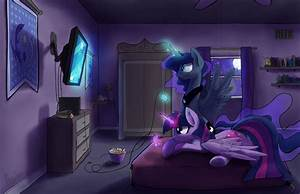 It is royal game night, Twilight Sparkle! by DarkFlame75 ...
