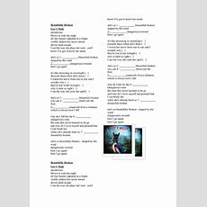 Song Worksheet Beautifully Broken By Gov't Mule (adverbs And Adjectives