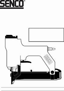 Senco Ls Nail Gun Operating Instructions Manual Pdf View